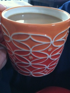 Morning cup of coffee